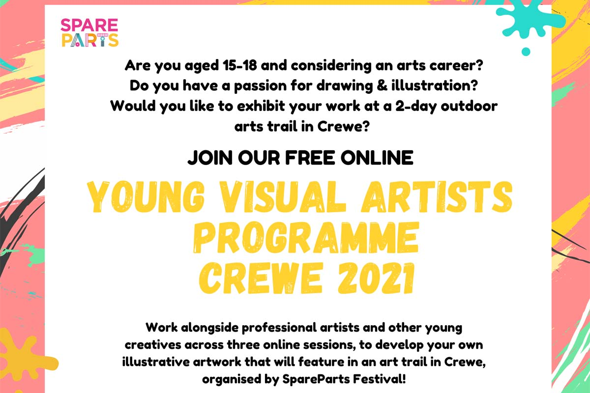 Read more about the article Young Visual Artists Crewe